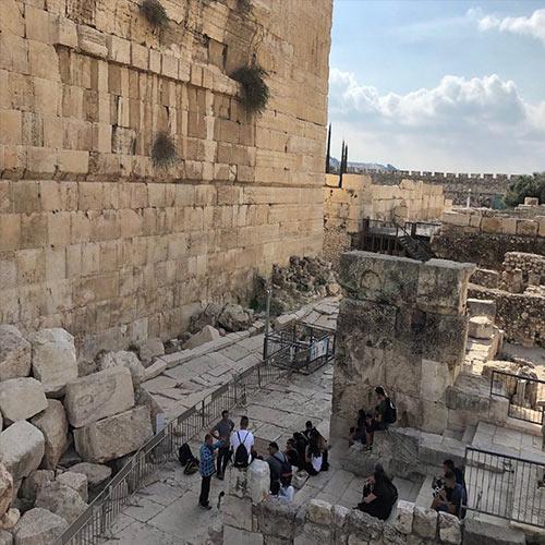 Shiloah-(Siloam)-inscription-–-City-of-David,-Jerusalem,-İsrail